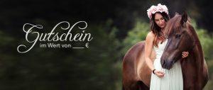 Gutschein Vorlage Pferd